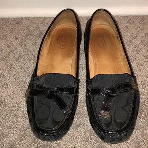 Coach penny loafers size 7.5